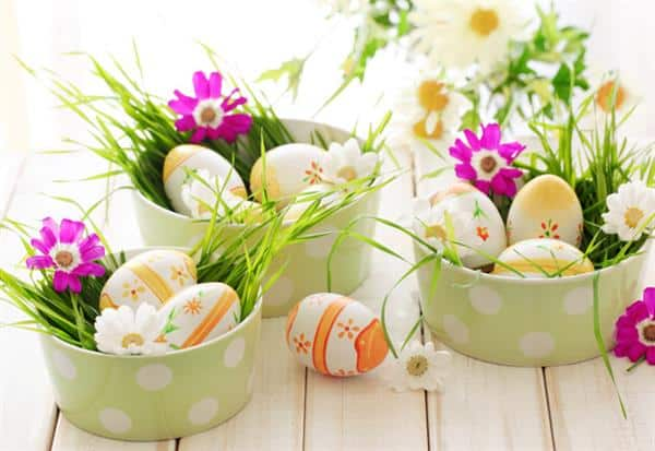 decoração-de-páscoa-com-ovos-de-galinha
