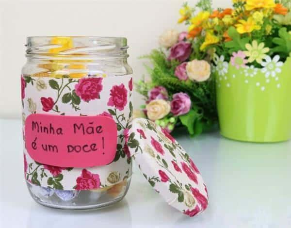 pote de doce dia das mães