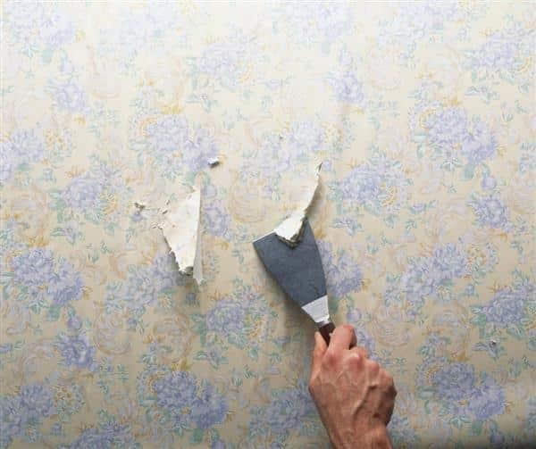 como tirar papel de parede