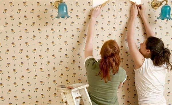 tirar papel de parede