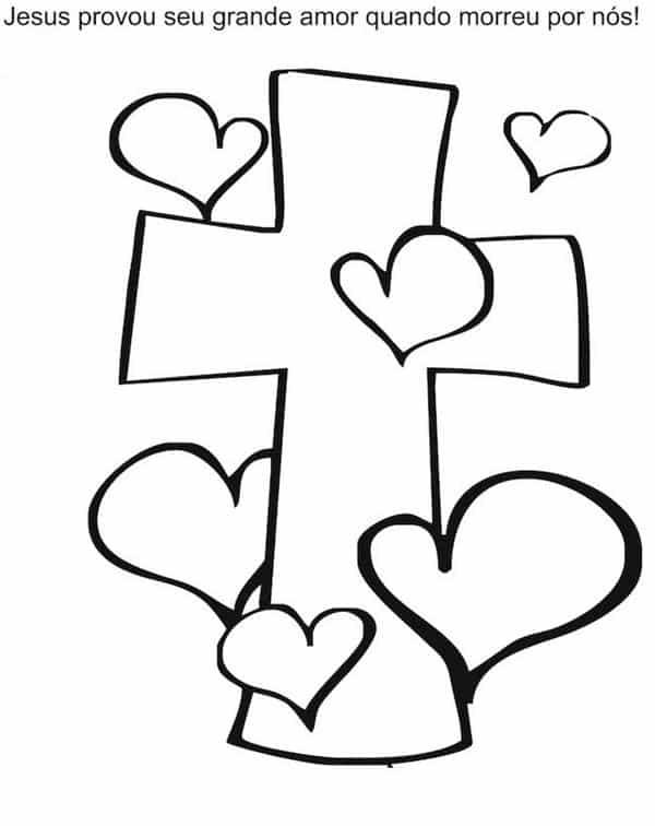 simbolos-da-pascoa-para-colorir cruz