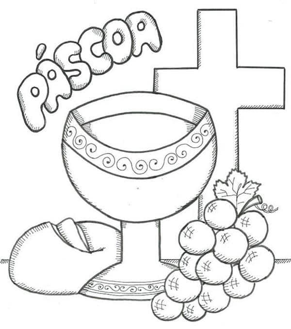 simbolos-da-pascoa-para-colorir-veja-atividades criancas