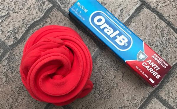 slime pasta de dente
