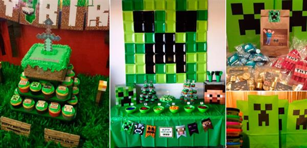 Festa-Minecraft-46-inspirações-para-a-sua-festa-infantil
