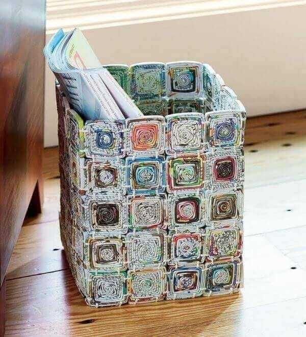 Revisteiro artesanal