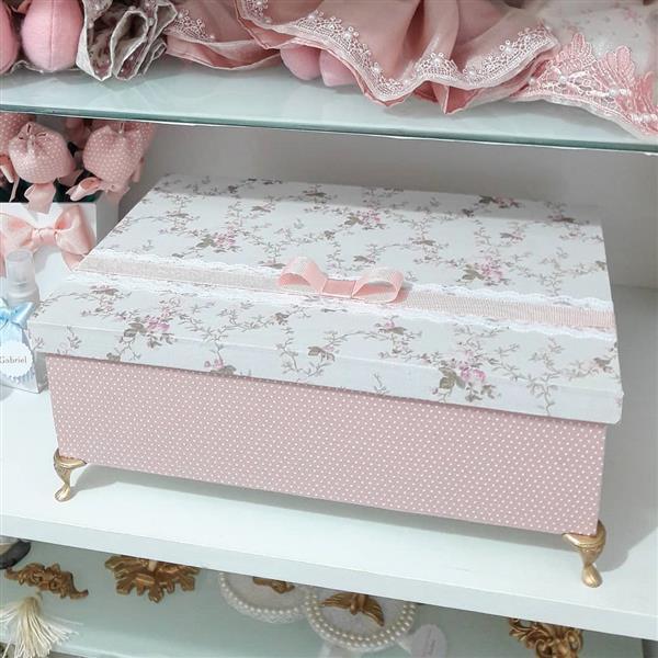 caixas-decorativas com tecido