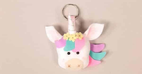chaveirinho de unicornio