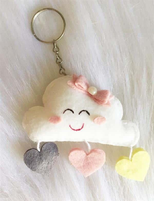 chaveiro chuva de amor