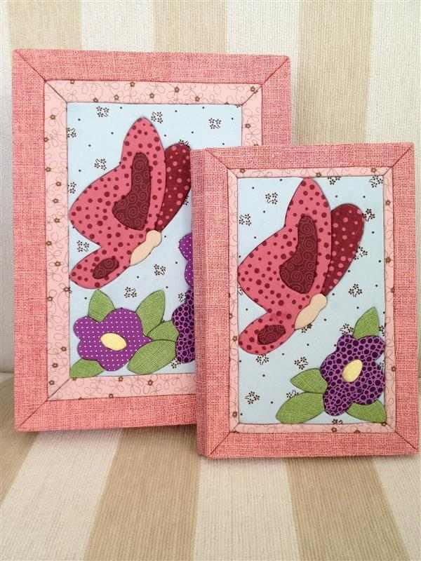 conjunto-caixa-caderno-borboleta-flores