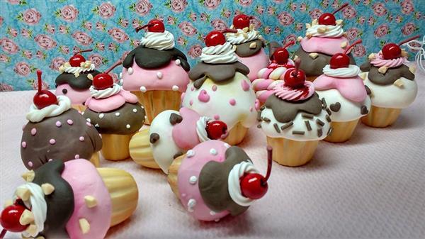 decoração com biscuit para mães