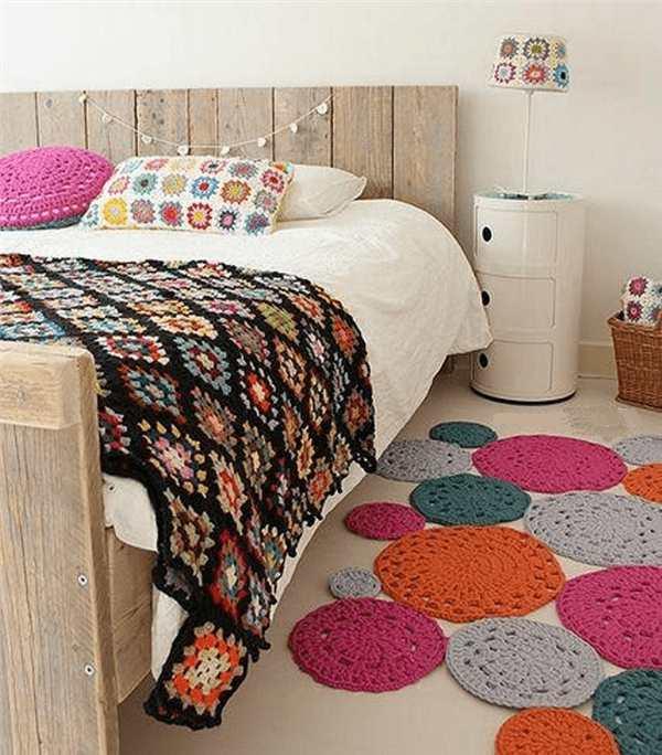decoração com croche