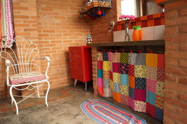decoração de cozinha com artesanato