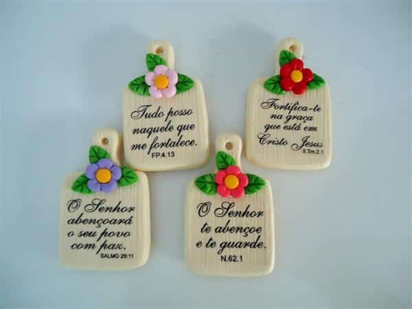 lembrancinha de biscuit mãe