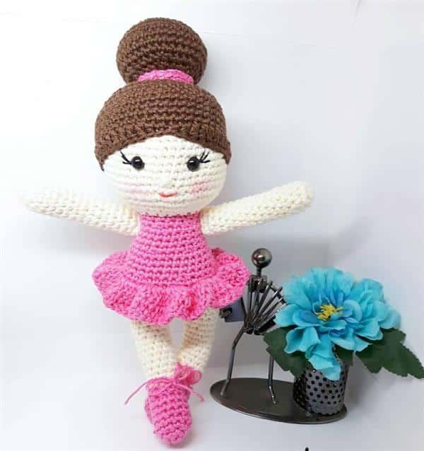 Boneca amigurumi pronta (Anita) – Solstício handamade | 638x600