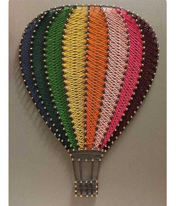 balão de linhas