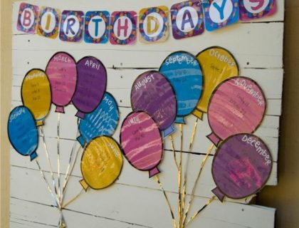 classroom birthday calendar printable preschool birthday calendar ideas google search