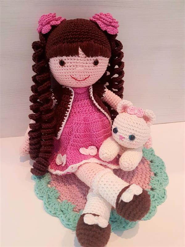 Boneca Anne with an E amigurumi no Elo7 | Dajuju artesanatos (1283053) | 800x600