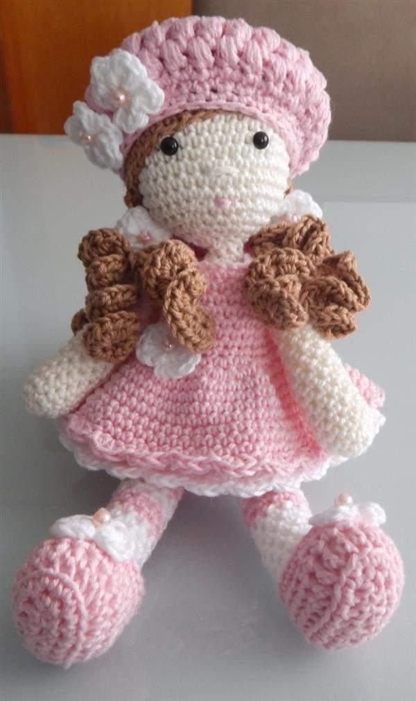 boneca-croche-amigurumi grande