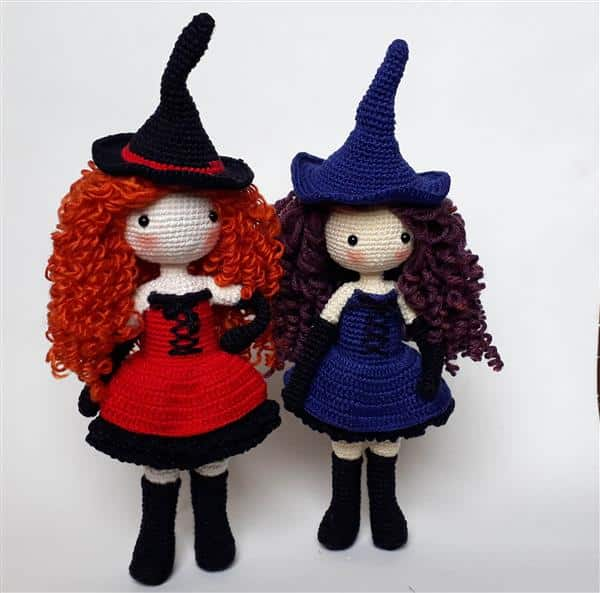 boneca de croche