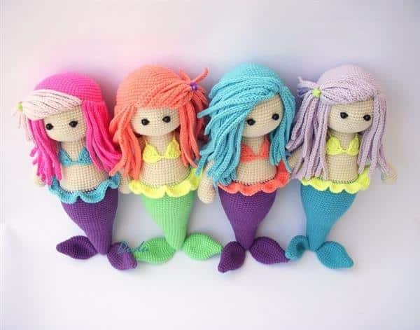 bonecas sereia