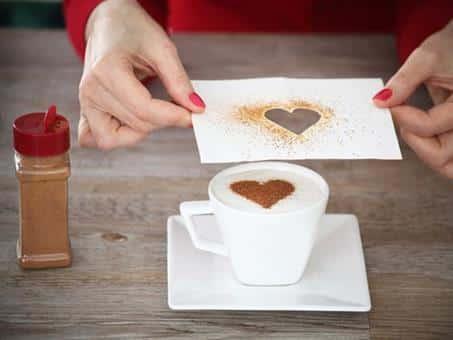 café com coração
