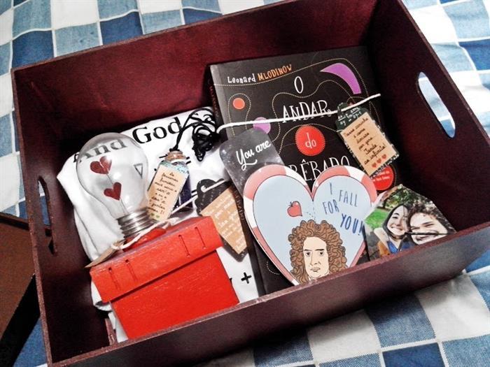 caixa namorados
