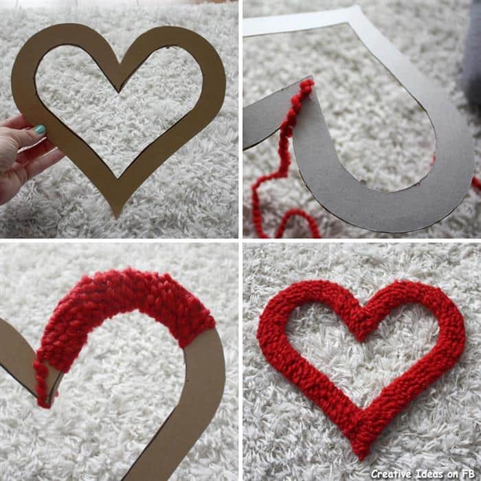 coração decorado