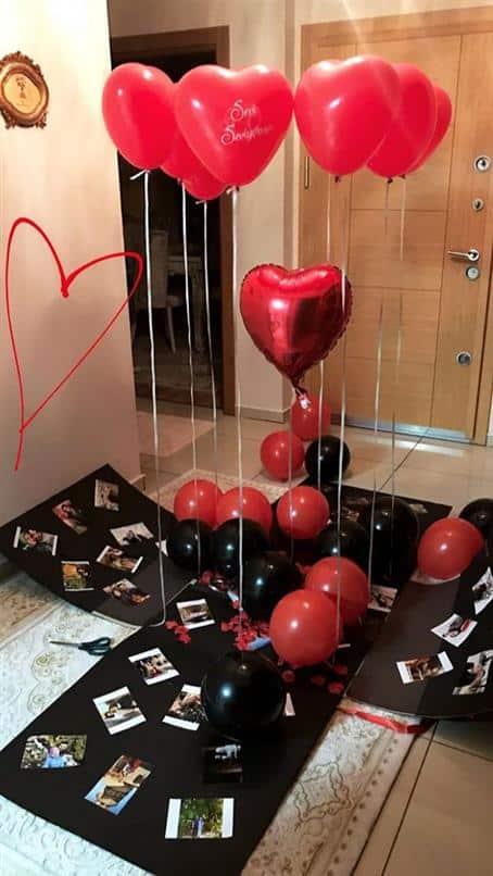 decoração para quarto namorados