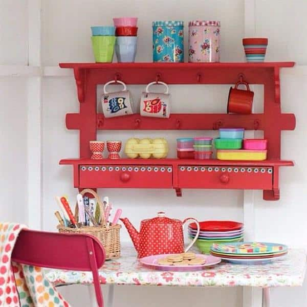estante para cozinha