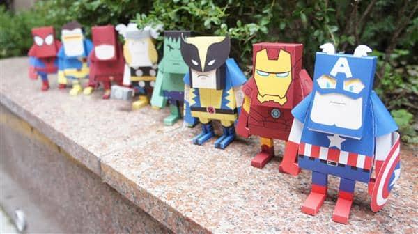 super herois de papel