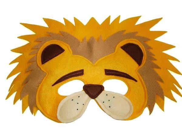 mascara de leão