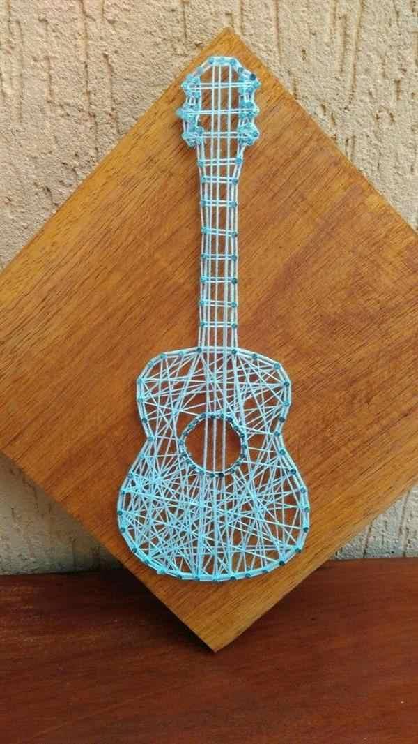 quadrinho violão