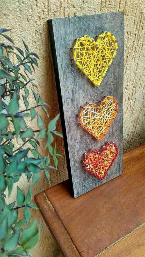 trio corações