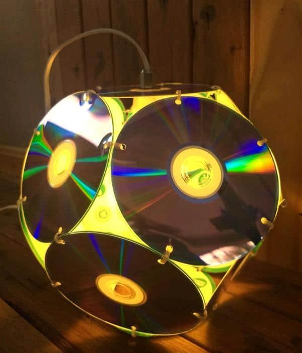 Dicas-de-Decoração-Artesanal-com-CD-Velho