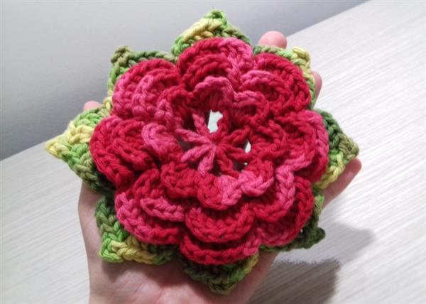 flor de barbante