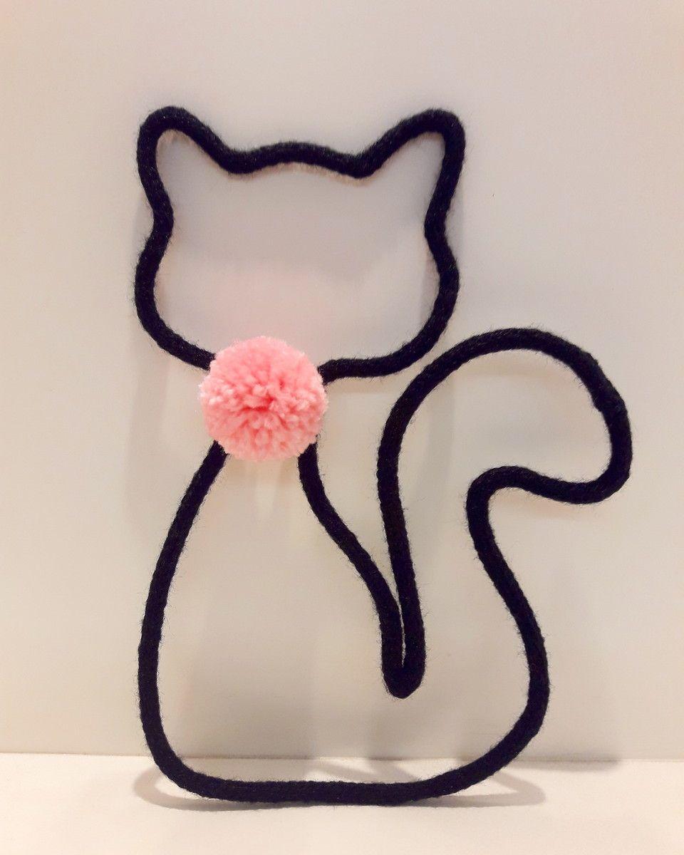 gato de tricotin
