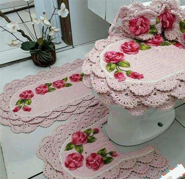 jogo-de-banheiro-4-pecas-em-croch-babados-e-flores