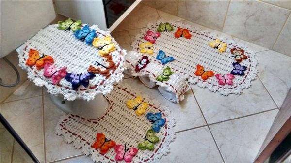 jogo-de-banheiro-de-croche colorido