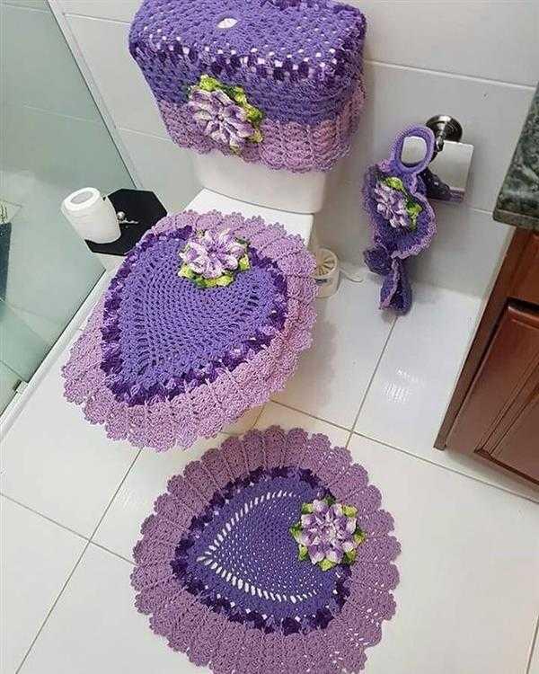 jogo-de-banheiro-de-croche-lilas