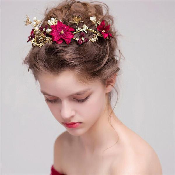 tiara Flor-Noiva