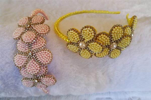 tiara de feltro