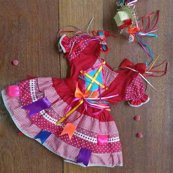 vestido-infantil-caipira-vermelho-roupa-festa-junina