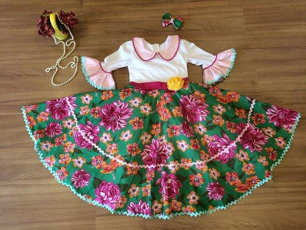 vestido junino menina