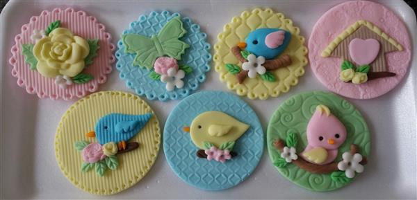 apliques-cupcakes-tema-passarinho-festa-jardim-encantado