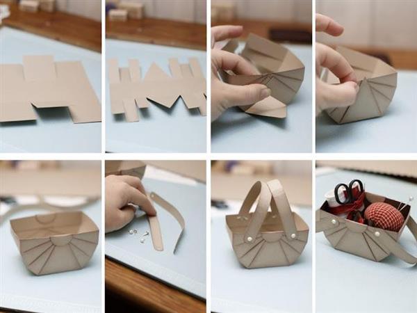 cestinho de papel