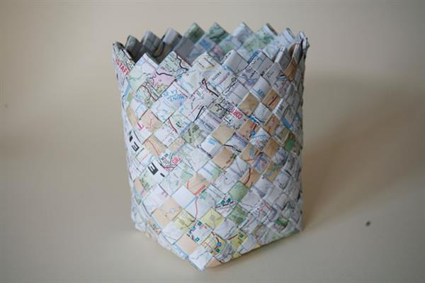 cesto de papel