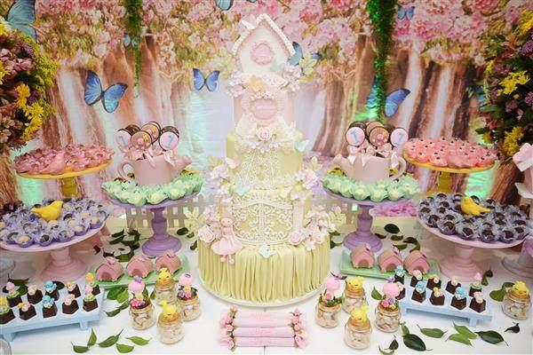 Festa Infantil Com Tema Jardim Encantado Artesanato Passo A Passo