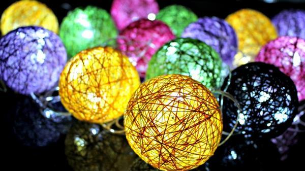esfera com luz