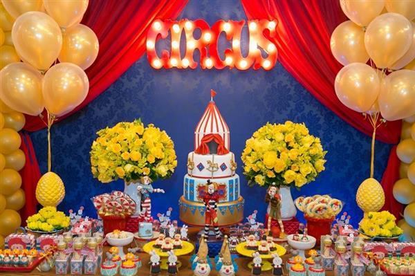 festa circo letreiro