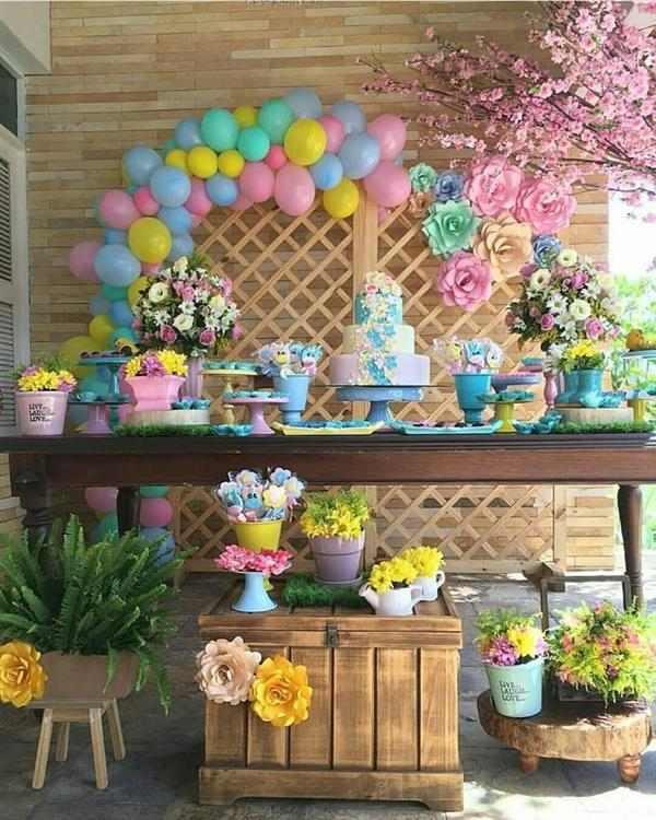 festa jardim simples